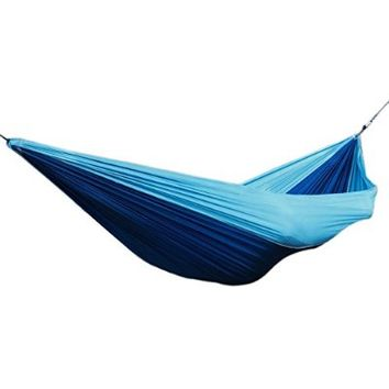 Himal Outdoor Travel Camping Multifunctional Hammocks (DeepGreen-LightGreen)