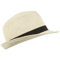 White String Trilby - New In - Topshop