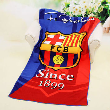 Football beach towel 70*140cm Absorbent Microfiber Bath Beach Towel Drying Washcloth Swimwear Shower Free Shipping For Gift