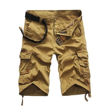 HOWL LOFTY Shorts Man 2017 Brand Fashion Mens Bermuda Short Men Homme Cargo Shorts