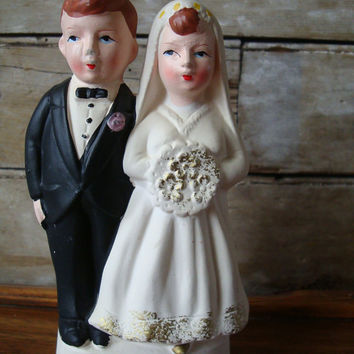 Vintage Bank Wedding Before And After Couple Adorable Our Town Japan Rare