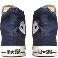 Converse Navy Chuck Taylor All Star Hi Top Trainers | Women's Trainers by Converse | Liberty.co.uk