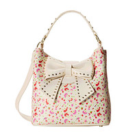 Betsey Johnson Hopeless Romantic Bucket Cream Multi - Zappos.com Free Shipping BOTH Ways