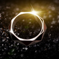 KPOP Fan EXO EXO-K EXO-M EXODUS XOXO WOLF88 Team Logo Alloy Jewelry Rings For Women or Men-0406