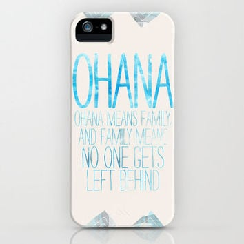 OHANA iPhone Case by Sara Eshak | Society6