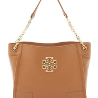 Tory Burch Britten Small Slouchy Tote Bag