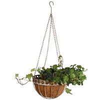 "12"" Metal Hanging Planter Basket, Gardening Tools & Markers"