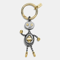 Coach Robot Key Ring