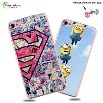 Hot Selling! 22 Pattern Lenovo S60 Case Cover Colorful Paiting Despicable Me Minion Case Cover FOR Lenovo S60 case In Stocking