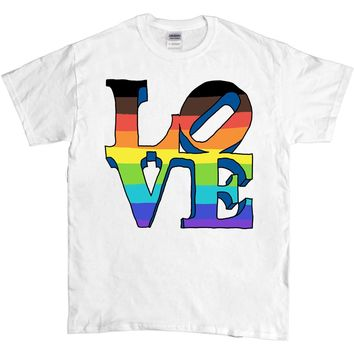 Proud Love Statue -- Unisex T-Shirt