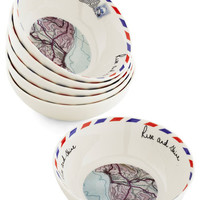 Disaster Designs Travel Arise and Dine! Bowl Set
