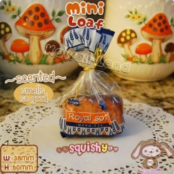 Royal Soft *Mini* Loaf of Bread Squishy ~ Scented