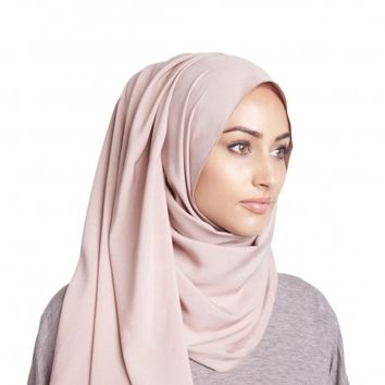 LIGHT MOCHA RAYON HIJAB - £13.95 : Inayah, Islamic clothing & fashion, abayas, jilbabs, hijabs, jalabiyas & hijab pins