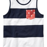 Old Navy Boys Stars And Stripes Tanks