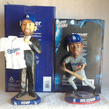 Matt Kemp and Dee Gordon Bobblehead Set
