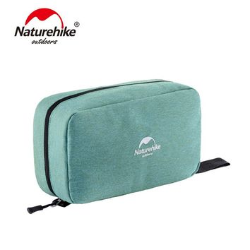 Naturehike Multifunctional Waterproof Traveling Toiletry Bag Cosmetic Bag Portable Bag Dry And Wet Separation NH18X030-B