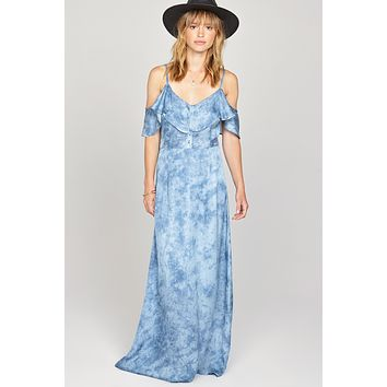 AMUSE SOCIETY - Lost Paradise Dress | Riviera Blue