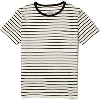 Hentsch Man - Striped Cotton-Jersey T-Shirt | MR PORTER