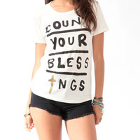 Count Your Blessings Tee