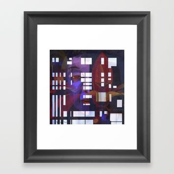 My house has many rooms Framed Art Print by artdestinypsd