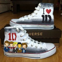 One Direction Shoes - BlingLogo