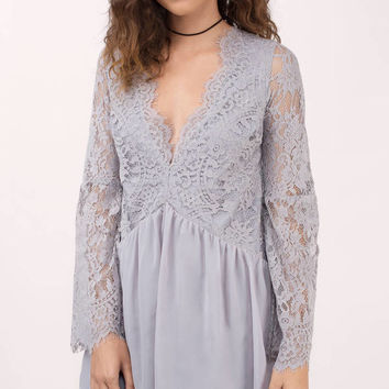 Wilma Lace Shift Dress