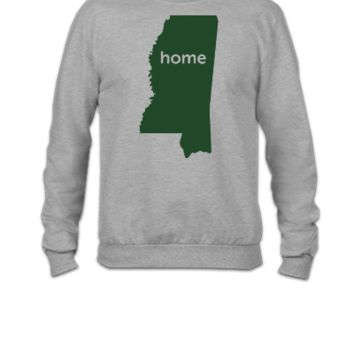 mississippi home - Crewneck Sweatshirt