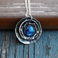 Shadow Of Midnight Necklace Made to order by sabineajewelry