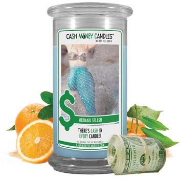 Mermaid Splash | Cash Money Candle®