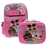 """LOL SURPRISE 16"""" BACKPACK AND LOL SURPRISE MATCHING LUNCH BOX BAG-BRAND NEW AND RARE FIND!"""