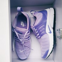 Nike Air Presto Trending Woman Personality Sport Running Shoes Sneakers Purple I-FEU-SY