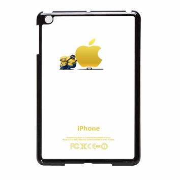 Minion Push Apple Despicable Me Movie iPad Mini Case