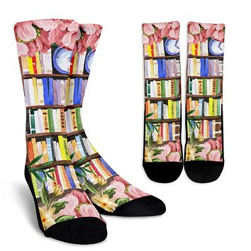 Cozy Library Nook Socks