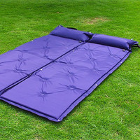 Outdoor Camping Mat Automatic Inflatable Mat Sleeping Pad Tent Air MattressWaterproof Dampproof mat with Pillow 186*60*2.5cm