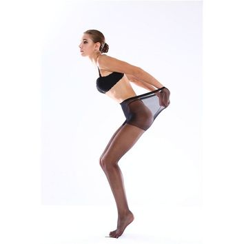 Fainlise Women Sexy Pantyhose Silk Stocking Super Thin Covered Yarn Tights 3 Colors Free Shipping