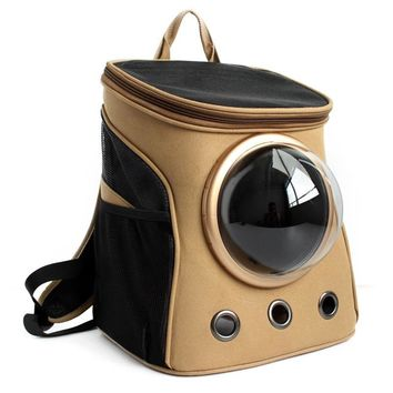 Space Ship Pet Backpack