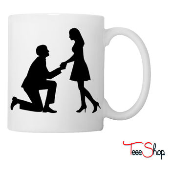 Wedding proposal Coffee & Tea Mug
