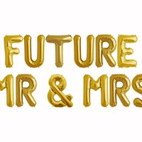 FUTURE MR & MRS Balloon Banner