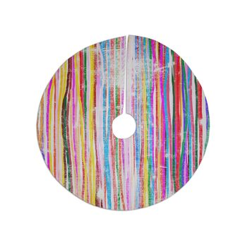 """Frederic Levy-Hadida """"Fancy Stripes Pastel"""" Tree Skirt"""