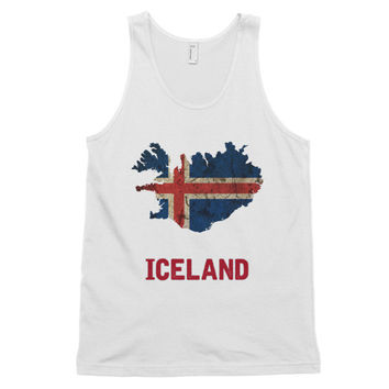 The Iceland Flag Tank Top