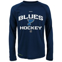 Reebok St. Louis Blues Play Dry Tee - Boys 8-20, Size: