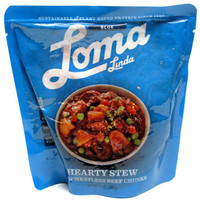 Hearty Stew with Meatless Beef Chunks by Loma Linda Blue – VeganEssentials Online Store