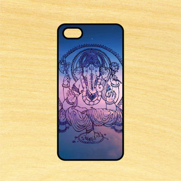 Ganesha Elephant iPhone 4/4S 5/5C 6/6+ and Samsung Galaxy S3/S4/S5 Phone Case