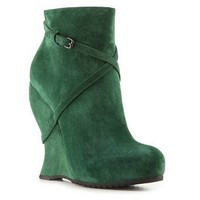 Bottega Veneta Suede Wedge Boot