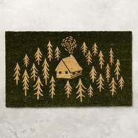 Forest Haven Doormat by Anthropologie in Holly Size: One Size Rugs
