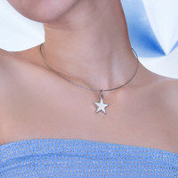 Charmed One White Star Choker