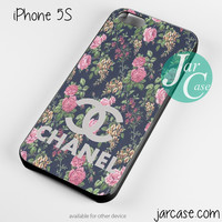 floral chanel 1 Phone case for iPhone 4/4s/5/5c/5s/6/6 plus