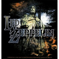 Led Zeppelin - Statue Decal