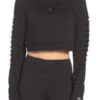 Alo Ripped Warrior Crop Top | Nordstrom