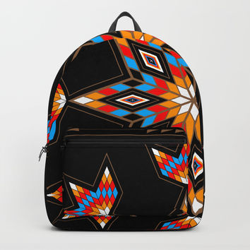 Morning Star Backpack by MelvinWarEagle